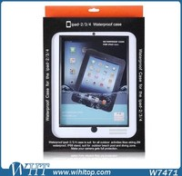 For iPad 234 Waterproof Case, Waterproof Protective Case for iPad 234