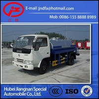 Dongfeng DFAC water tanker street springkler truck 4000L (JDF5060 Jiang special water liquid tanker truck )