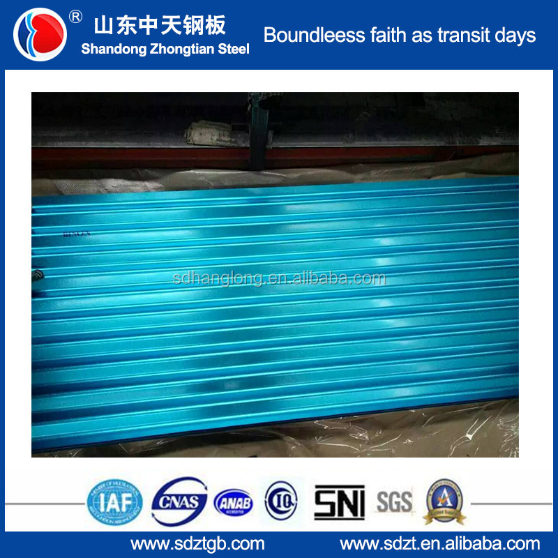 Steel mill color coated steel coil aluzinc roofing sheet/roofing plate