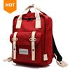 Wholesale Custom Waterproof Nylon Computer Women Korean High School Backpack Bag
