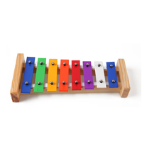 Wholesale Orff percussion musical instrument baby toy 8 note kid wooden professional xylophone