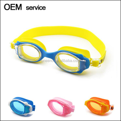 Wholesale soft and comfortable silicone kids swimming goggles cheap price