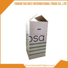 large format color printing carton