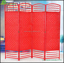 New Arrivals Synthetic Hand Weaving Rattan Modular Folding Screen Room Divider Folding partition GVSD 017