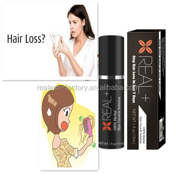 2015 Aliexpress most hot selling prevent hair fall products-------Real Plus hair regrowth spray