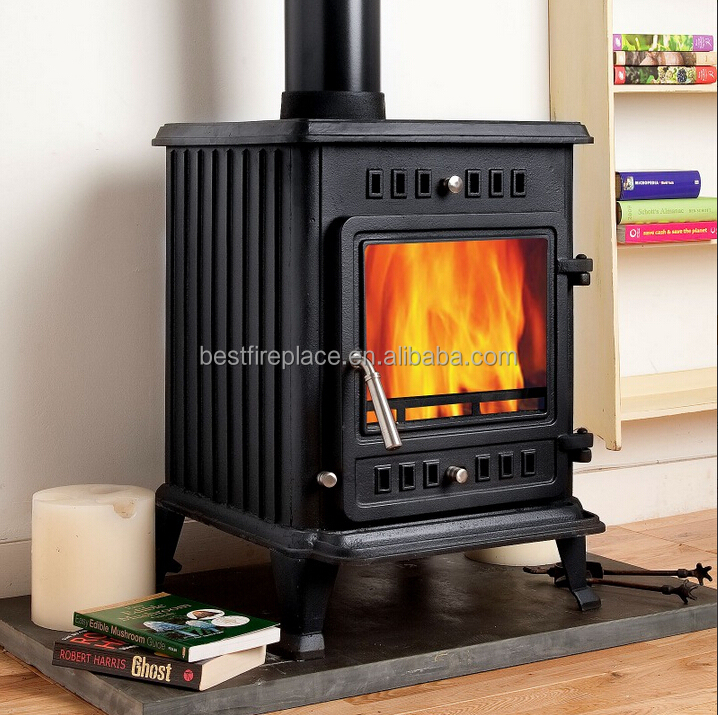 Small Indoor Cast Iron Wood Burning Stove