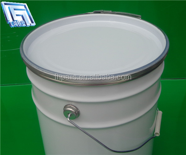 5 gallon 20litre metal paint bucket pail for panit packing for 5 gallon bucket of paint price