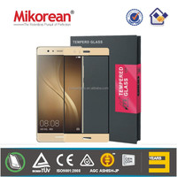 Mikorean Tempered Glass Screen Protector with 2.5D 9H hardness and Anit-finger oil for Santiago de Chile