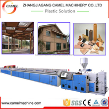 New type wpc pvc window profile making machine with high output low consumption