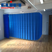 Customized NFPA701 Standard Fireproof Curtains/Medical Clinic Hospital Partition Curtain