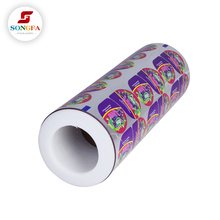 Cheap price multi layer lamination jelly plastic cup sealing film for sale