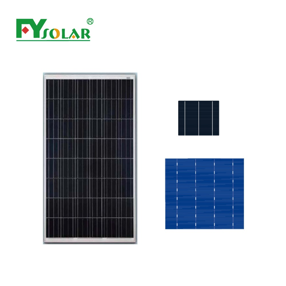 140w poly solar cell solar panel