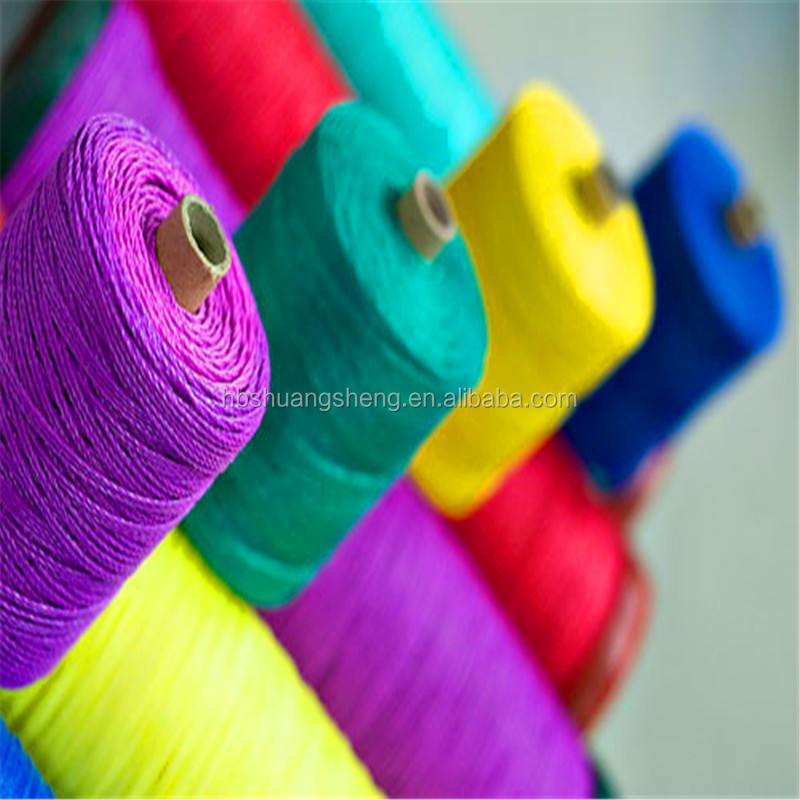 High quality 100% spun polyester overlocking thread dty