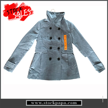 Good quality bulk sale winter keep warm without hooded casual ladies long coats