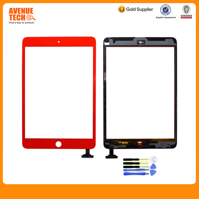 For Apple iPad Mini 3 LCD Screen For iPad MIni 3 Digitizer Touch Screen with IC and home button flex Assembly