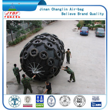 China navy Pneumatic loading bay rubber fender anti-collision boat