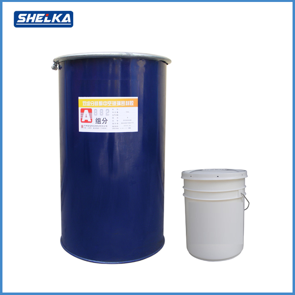 High strength polysulfide insulating structural glass silicone sealant