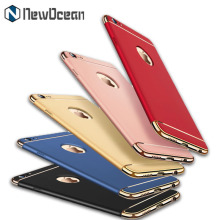 Wholesale thin mobile phone accessories 3 in 1 pc hard case for iphone 7 plus