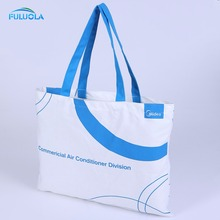 Custom recycled canvas tote bag with customize printing