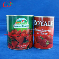 Good quantity canned fruit distributor, canned strawberry in light syrup