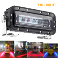 10-80v 6inch Red LED keep out zone safety light forklift led red zone light duty machine safety light