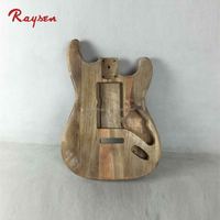 unfinished ST electric guitars body maple wood Guitar wood parts