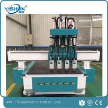 cnc router wood bed engraving china furniture assembly line cnc router atc multi spindle for door for furniture