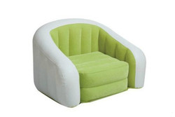 Hot selling inflatable Sofa flocking, inflatable rocking chair with Air pump