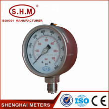 Bourdon tube biogas pressure gauge manometer