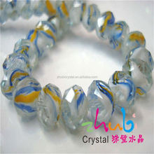 Large Faceted Glass Beads,Glass Balls With Holes,India Faceted Crystal Glass Ball Beads For Cheap Price