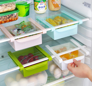 plastic drawer fridge organizer fridge box refrigerator storage lock box