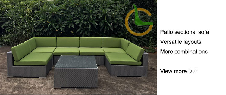 Outsunny 4 Piece Cushioned Outdoor Rattan Wicker Garden Furniture