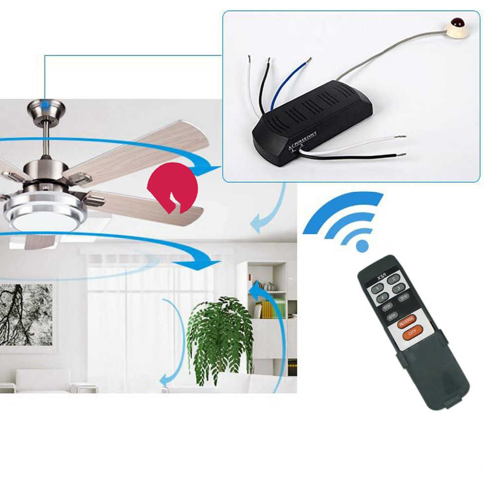 customized ir receiver PCBA with ceiling fan remote controller