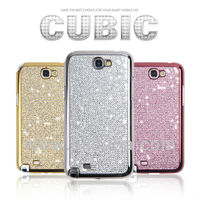 Crystal Phone case for iphone 5(S) & samsung galaxy S3 S4 i9300 i9500 Supreme CUBIC