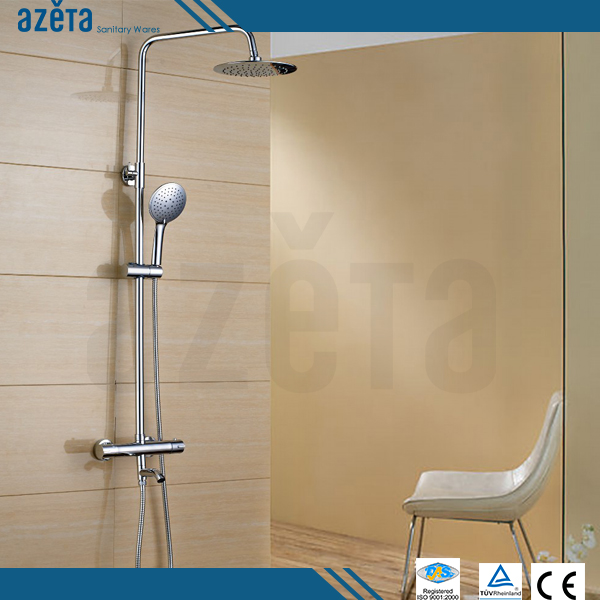 Cheap Bathroom Automatic Temperature Control Bath Water Shower Mixers Faucet Thermostatic Shower Set