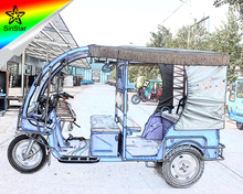 Indian Bajaj new 150cc petrol 3 wheeler auto rickshaw made in China