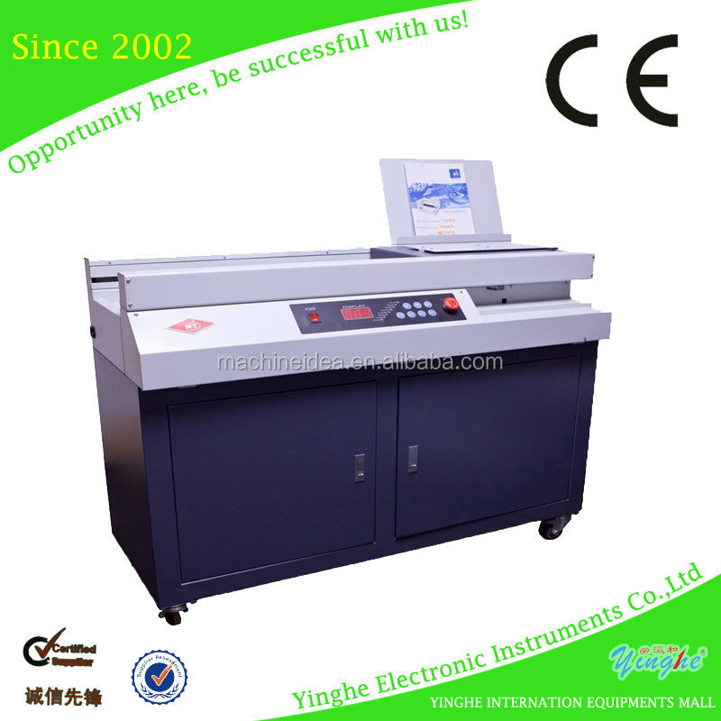 Professional manufacturer Electric full automatic Perfect book glueing binding machine