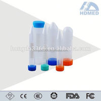 0.5ml Plastic Micro Centrifuge Tube with Cap