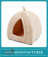 New style Soft Plush Covered Pet Bed House for Cats or Dogs