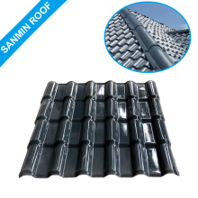 building material pvc roof covering aluminium transparent stone roof tile