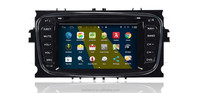 "6.2"" car dvd player with android 4.4 for Ford mondeo/focs/S-max, Gps navigation/3G/Wifi/DVR/Hidden camera"