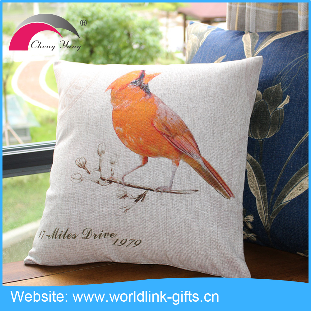Good quality custom design digital printing pillow case cushion cover