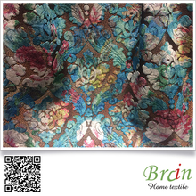 High quality free sample available jacquard velvet brushed sofa fabric cheap