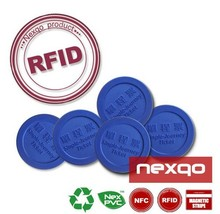 RFID Thermal Coated Paper Ticket Tag Sticker Lable for Logistics Tracking