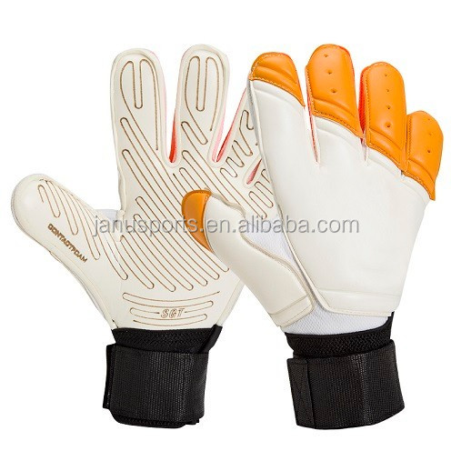 WoWEN-3083A# 4mm Latex Fingersave detachable professional goalkeeper gloves