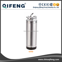 2 inches submersible well pump,220v 1.1kw submersible well pump