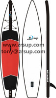 Inflatable sup racing board