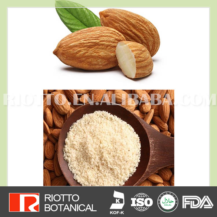 100% Pure Organic dried Almond pulp powder