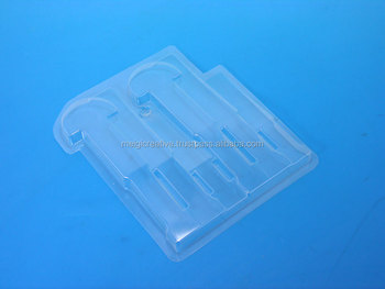 Clear PVC Blister Insert Trays for Tools, Hardware Packaging