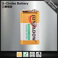 Durability wholesale 6LR61 9v super battery alkaline